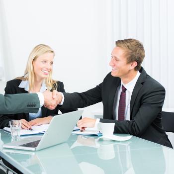 kandydat w procesie rekrutacji